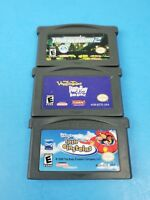 Lot of 3 Nintendo GameBoy Advance Games