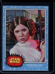 2020 Topps Star Wars Living Set #77 Princess Leia SP Card Short Print A New Hope