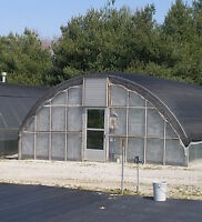 20 ft x 24 ft Low Sidewall Greenhouse Frame Package Kit