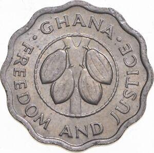 1967 Ghana 2 1/2 Pesewas - TC *470