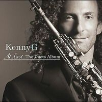 FREE US SHIP. on ANY 3+ CDs! ~Used,Good CD Kenny G: At Last...The Duets Album