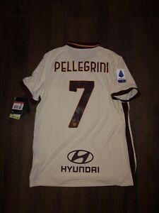 Authentic Vaporknit AS Roma Pellegrini Away 20-21 Jersey Shirt Maglia L Large