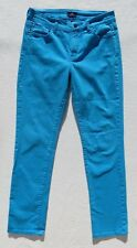Not Your Daughter's Jeans Blue Skinny Leg Stretch Denim Jeans size S 6