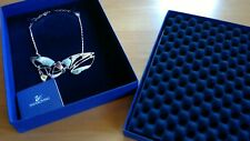 New Swarovski Crystal Necklace-New With Papers-In Box-London