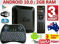 X96Q 4K Android 10.0 Quad Core Media Player Smart TV BOX WIFI HDMI MINI PC AUS