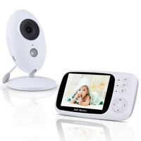"""3.5"""" Wireless HD Video Baby Monitor 2.4GHz Night Vision Security Camera Viewer"""
