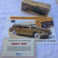 Dinky Toys Neuf Boîte - Citroën ID 19 Break