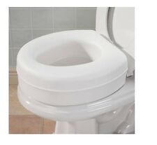Toilet Seat Riser, Extra 4 Inch On Toilet Seat, Provides Extra Boost Sit, Rise