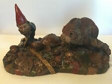 Tom Clark Tim Wolfe The Race 1992 Mold 82 Large Piece Cairn Studios Gnome/Rabbit