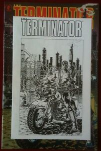 The Terminator (1990) - Mini Comic Book - Dark Horse Comics - Rare Ashcan