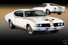 1969 Oldsmobile Hurst Cutlass 442, Refrigerator Magnet, 40 MIL Thick
