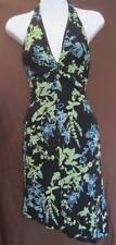 Juniors bebe Lined Halter Style Sz. Small Rayon Floral Dress