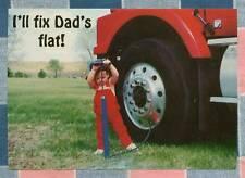 50 Postcards Little Lee Comic Trucking I'll Fix Dad's Flat