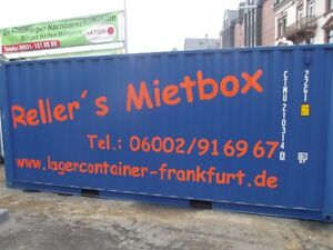 See-/Lagercontainer Container zur Miete / Mietcontainer