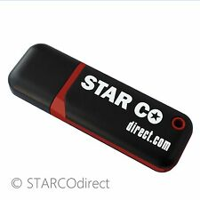 8gb Flash Drive USB 3.0 - Red and Black - STARCOdirect SC-903