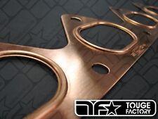 Mr. Gasket Copper Exhaust Turbo Manifold 4G63 4G64 Evo 7 8 9 DSM Eclipse