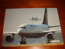 Lufthansa Airlines, Airbus A310-200 Postcard, New, Nice!