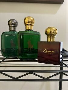 Ralph Lauren Polo COLOGNE INTENSE / classic Polo EDT / Lauren all gently used