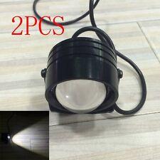 "Universal 2PCS 2"" 2INCH PROJECTOR LED AUXILIARY Backup Fog LIGHTS 12V"