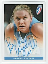 2007 WNBA Authentic Autograph Brooke Wyckoff Chicago Sky