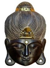 NEU Edle Buddha Maske Feng Shui Afrika Budda Maske14