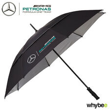 2017 Mercedes-AMG F1 Lewis Hamilton Formula 1 Team Golf Size Umbrella in BLACK