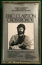 ERIC CLAPTON Crossroads Sampler ~ US Polygram 8-track Promotional Cassette