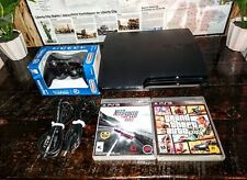 Sony Playstation 3 PS3 Slim 120GB CECH-2001A /Console Bundle Lot