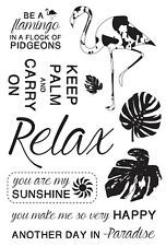 KaiserCraft Clear Stamps Say Aloha Collection - Tropical Palm Nini's Things