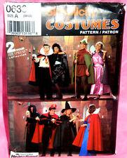 Uncut Simplicity Misses Men S,M,L Halloween Costumes Pattern 0636 Princess Witch