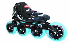 Inline Speed Skates by Trurev. SWISS bearings. Up to size 7.5