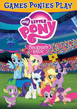 My Little Pony: Friendship Is Magic - Games Ponies Play (DVD, 2015)