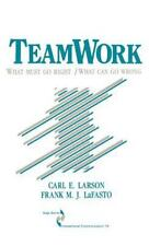 Teamwork: What Must Go Right/What Can Go Wrong (SAGE Series in Interpersonal Com