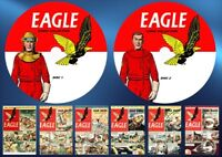 Eagle Comics Series 1 (v1 - v6) + Annuals On Two PC DVD Rom's (CBR FORMAT)