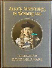 RARE Alice in Wonderland Collectible Signed/Numbered Art Book 185/400 ML Patron