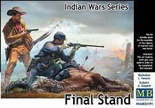 Master Box 1/35 serie guerras indias, soporte final # 35191