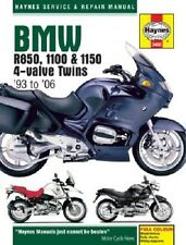 HAYNES MANUAL BMW R1150GS ADVENTURE 2002-2006 & R1150R ROCKSTER 2003-2005