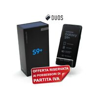 "SAMSUNG GALAXY S9 PLUS DUOS 256GB BLUE 6,2"" DUALSIM G965FD G965F PER P.IVA-"