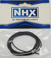 NHX Pro Silicone Wire 24 AWG Gauge 3 FT Black