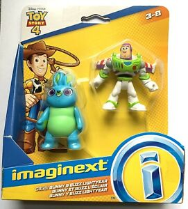 Toy Story 4 Imaginext Figure Pack. Bunny & Buzz Lightyear. New