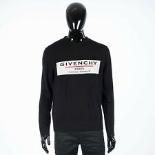 GIVENCHY 890$ Black Label Sweater In Merino Wool