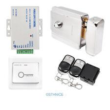DC12V Electric Rim Lock With Keys HOMSECUR Video & Audio Doorphone Intercom