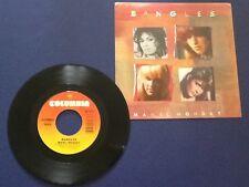 BANGLES ~ manic monday COLUMBIA 1985 all ORIGINAL early PRESS 1B/1B BOTH Nm- !!!