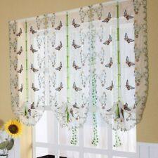 Farfalla Decorato a Pacchetto Tende Finestra Balcone Tulle Puro Tendine Persiane