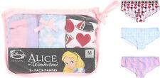Alice In Wonderland Licensed Disney Panties Panty Hot Pants 3 Pack JRS. Large