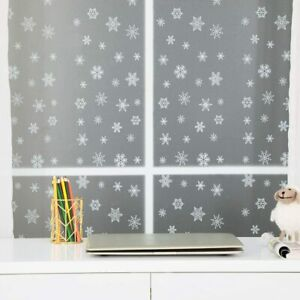 Snow Frosted Window Film Room Bathroom Home Window Film Tint Privacy Bath Office