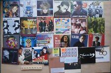 LOT OF ALBUMS & EPS ON 27 PROMO CDS - HEAVEN SENT McFLY BOB MARLEY ETC - UNUSED