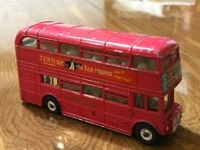 DINKY TOYS #289 ROUTEMASTER BUS TERN SHIRTS LONDON TRANSPORT ENGLAND 1976 L@@K