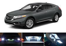 White LED Package - License + Vanity + Reverse for Honda Crosstour (8 Pcs)