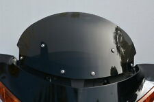 "VICTORY VISION 2007-UP 15"" TALL DARK GRAY  WINDSHIELD WITH FLIP"